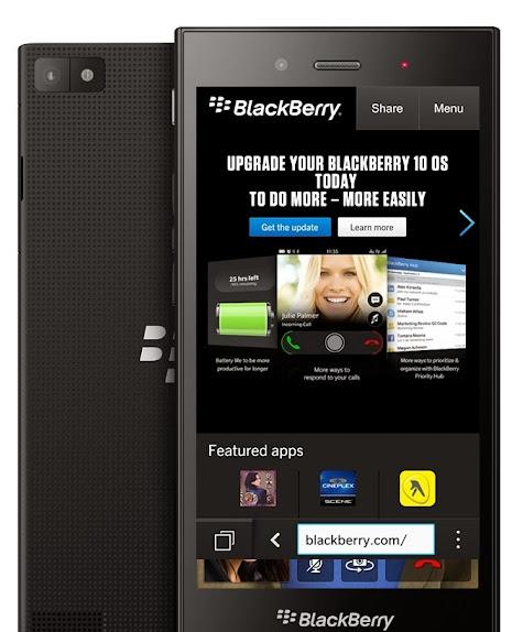 BlackBerry Luncurkan BlackBerry Z3 (Jakarta) 13 Mei