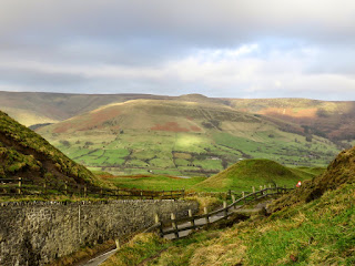 Kinder Scout And Edale From Mam Nick