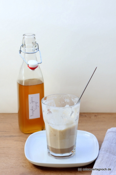nachgemacht pumpkin spice sirup und pumpkin spice latte macchiato sch ner tag noch food blog. Black Bedroom Furniture Sets. Home Design Ideas
