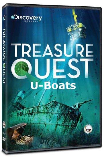 Zatopione skarby Niemieckie U-Booty / reasure Quest: Quest: U-Boats (2009) PL.TVRip.XviD / Lektor PL