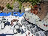 One of the Star Wars MiniLand displays at LegoLand