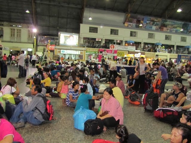 Hua Lamphong train station, Bangkok