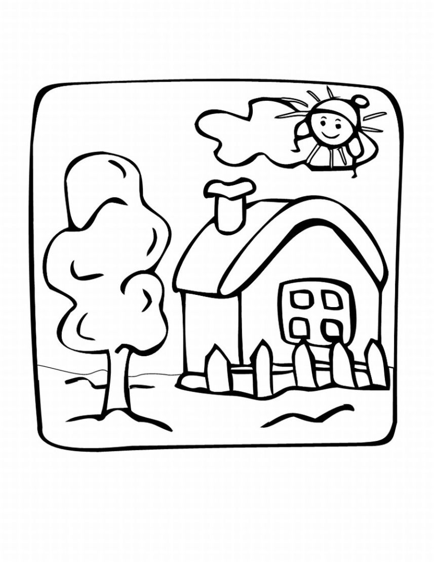 free coloring pages for kindergarten - Free Christmas Colouring Pages For Children Activity Village