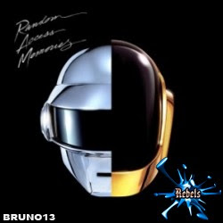 Capa do CD Daft Punk - Random Access Memories