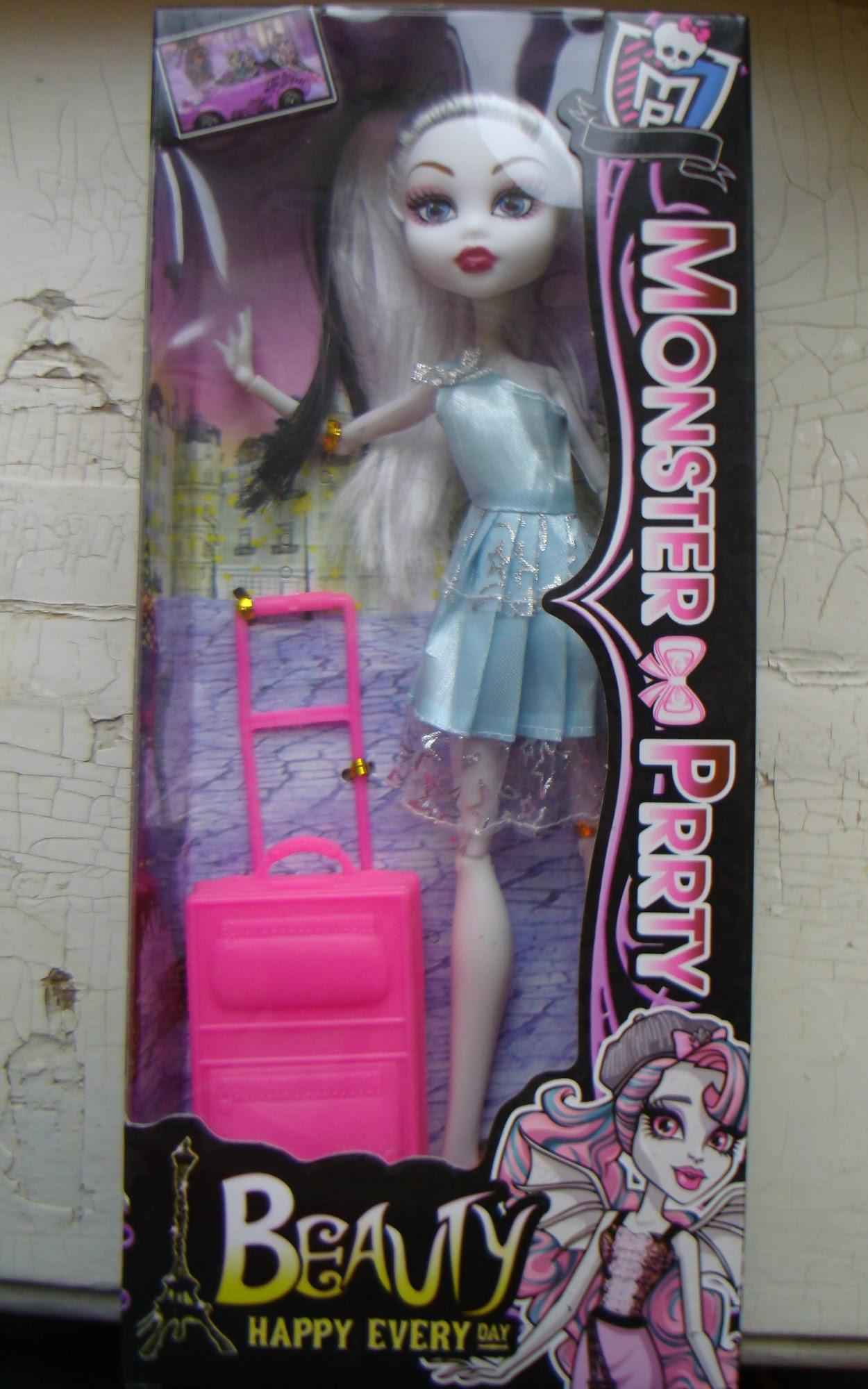 Как сделать из поделки куклы монстр хай