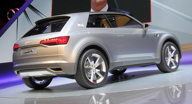 Audi Crosslane Coupe Concept Audi wants to Double SUV and Crossover Lineup with Q2, Q4 and Q6 Models