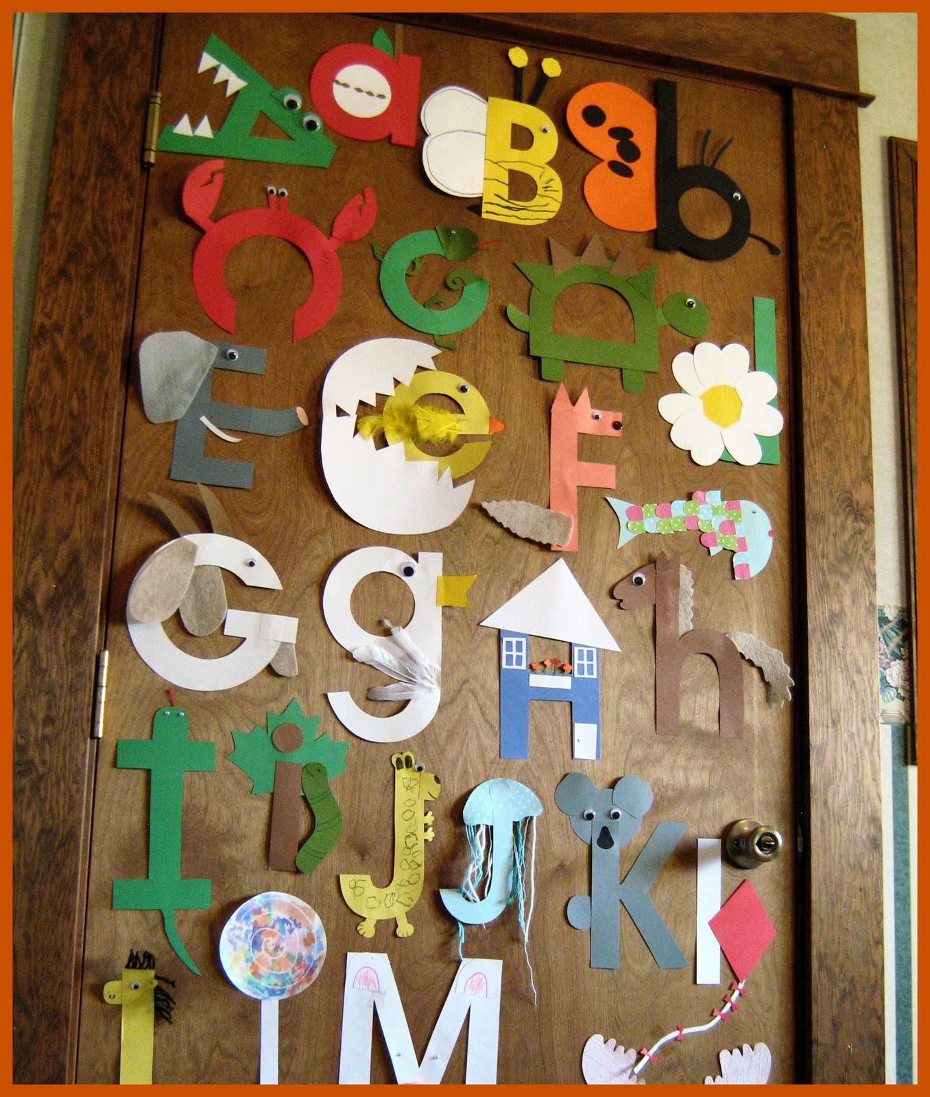 Картинка азбуки своими руками