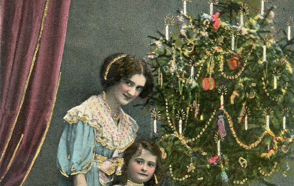 Visiting Vintage: Vintage Christmas Cards