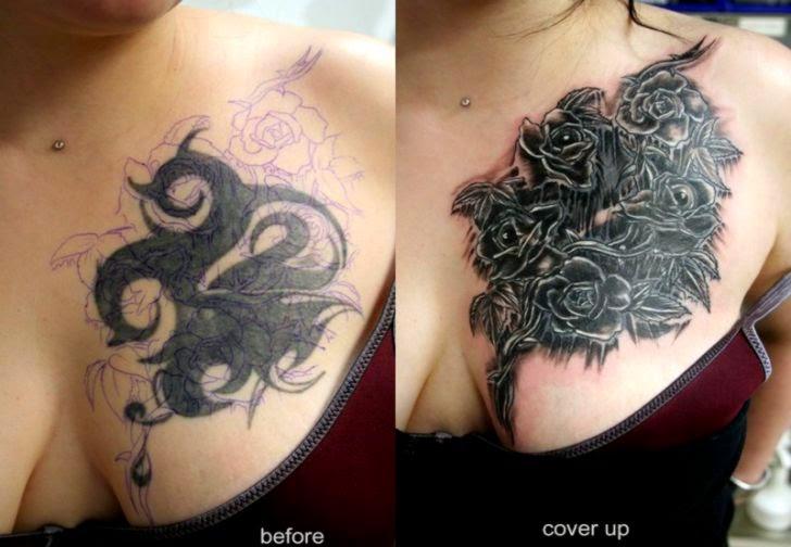 tattoo verbergen make up