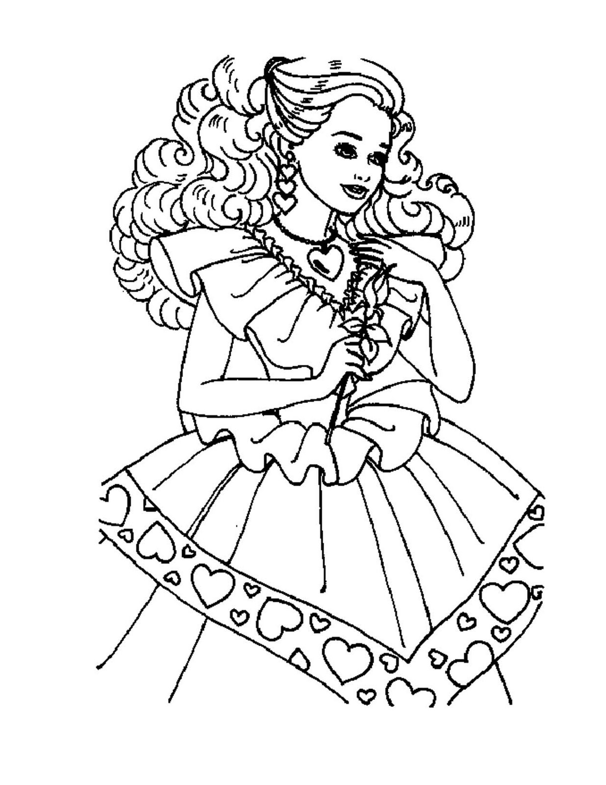 Barbie Mermaid Tale Coloring Pages Printable FunTown
