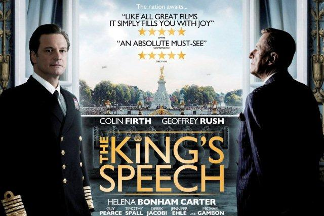 Caratula de la pelicula El discurso del Rey The Kings Speech