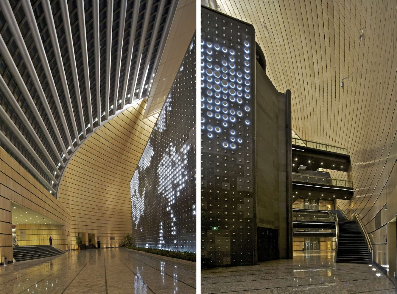 Jinan Grand Theater by Paul Andreu Architecte