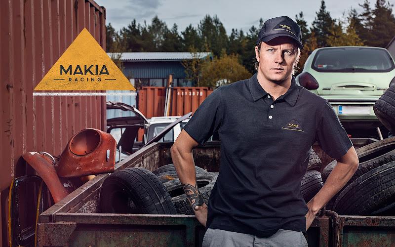 Кими Райкконен обои 1920x1200 Makia Racing