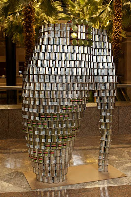 Sculptures Made From Canned Goods : Canstruction 2011 Seen On www.coolpicturegallery.us