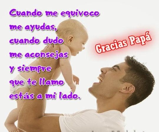 Mensajes de cumpleaños para papa ~ Frases de cumpleaños