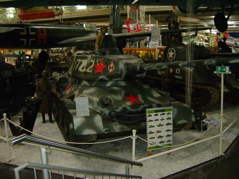 Sowjetischer T34 aus dem 2.WK