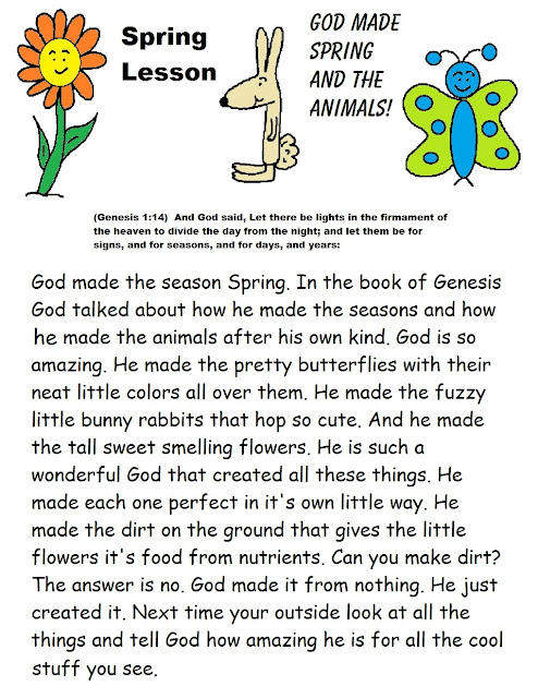 Free Printable Sunday School Lessons For Kids