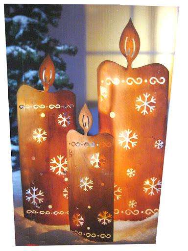 xxl licht deko kerzen lichterkette metall gartenstecker beleuchtung 3er set ebay. Black Bedroom Furniture Sets. Home Design Ideas