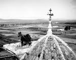 Vista del cementerio viejo de Catral. Años 60. (Biblioteca Municipal de Catral).