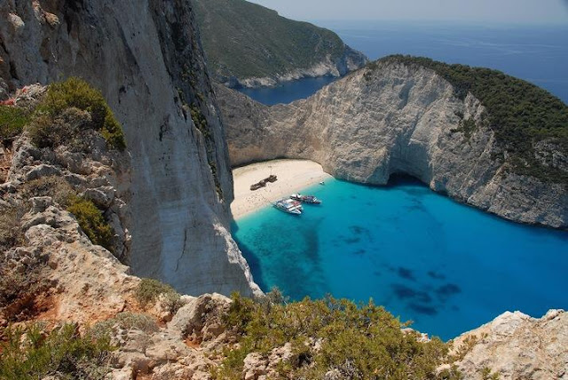 Navagio Beach, Greece Seen On www.coolpicturegallery.us