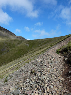 Scree path to Beck Head