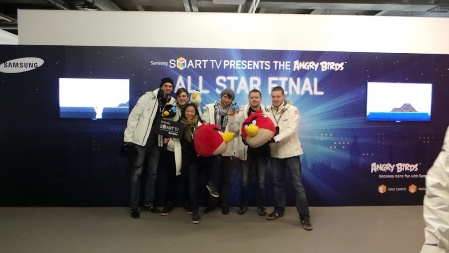 Samsung Angry Birds All Star Final - Korean Culture Center