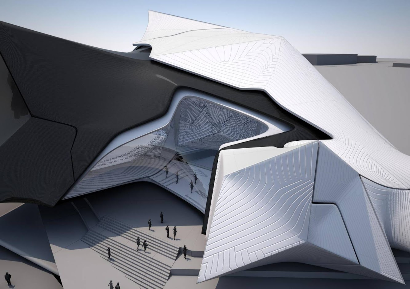 Sofia, Bulgaria: Collider Activity Center by Tom Wiscombe Design