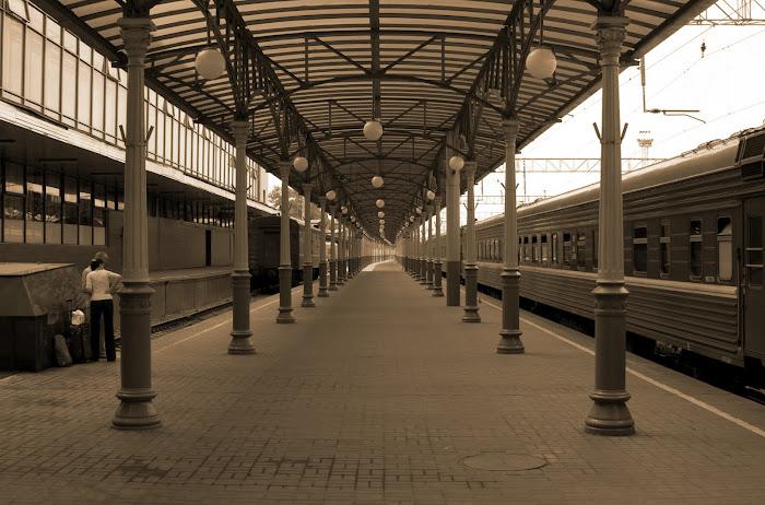 Белорусскйи вокзал в Москве