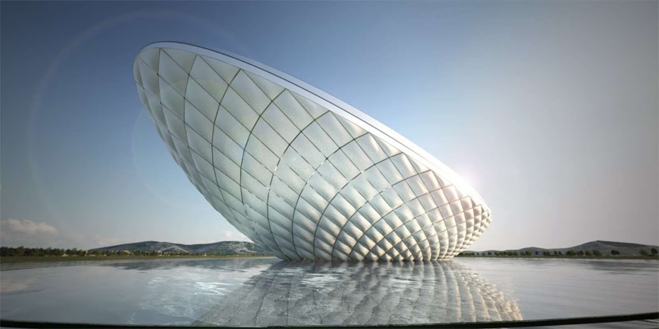 Daegu, Corea del Sud: Arc Multimedia Theater by Asymptote