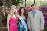 2014 Azalea Queen Kirsten Haglund, Celebrity Guest Johna Edmonds Miss North Carolina, President Steve Coble
