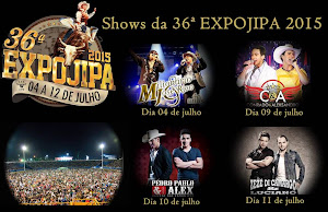 SHOWS DA EXPOJIPA 2015