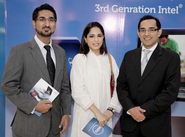 Salman Kazmi, Mishelle Raza, Dell CM Mr Shahzad Khan