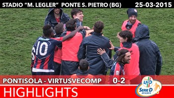 Pontisola - VirtusVecomp- Highlights del 25-03-2015