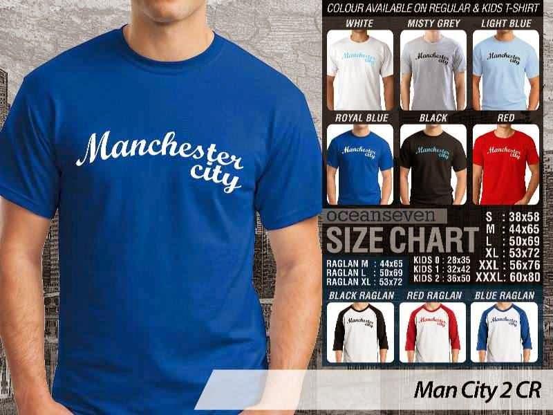 KAOS Man City Manchester City 2 Liga Premier Inggris distro ocean seven