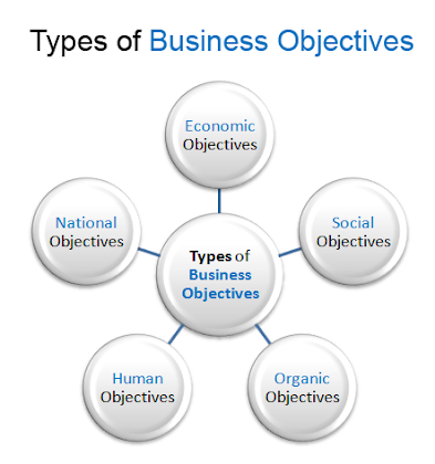 types of business objectives