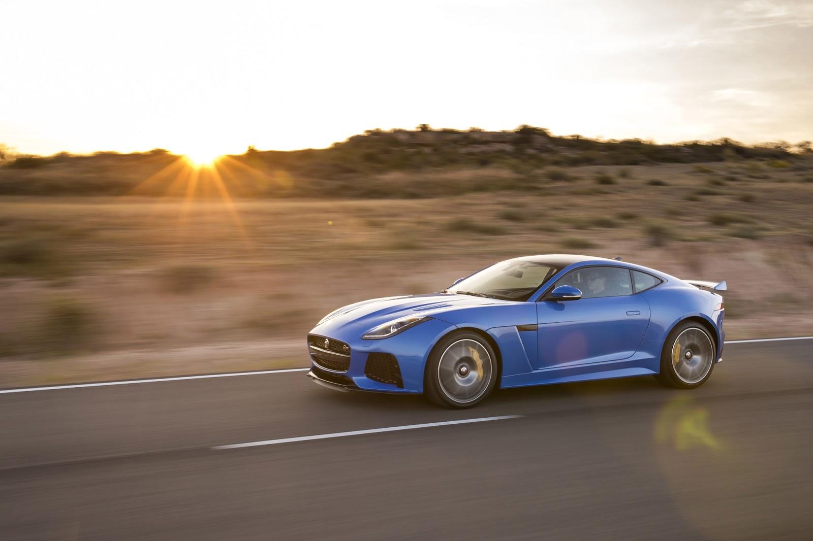 Đánh giá xe Jaguar F-Type SVR 2017