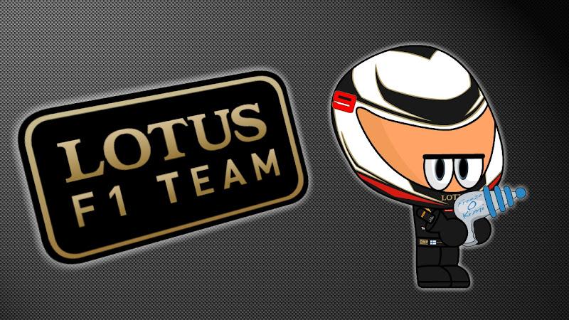 Кими Райкконен Lotus F1 Team via Los MiniDrivers