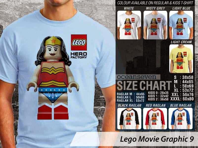 Jual Jual KAOS lego Wonder Woman distro ocean seven