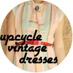 Vintage Dress Upcycle