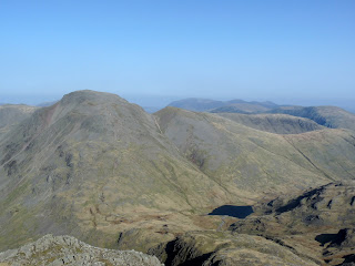 We are getting high now as Great Gable almost seems to be below us!!