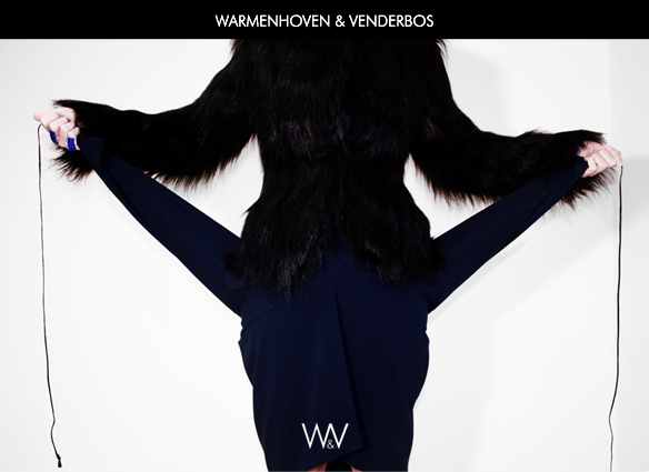 Warmenhoven & Venderbos | Sales invitation | Collection Autumn Winter 2013|2014 | Fashion | Verkoop uitnodiging | Najaar Winter 2013|2014 designer dames mode collectie | Wintermode 2013