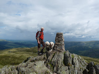 Roger at Place Fell Summit