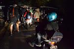 3 rano, po godzinie jazdy utknęlismy w korku przy punkcie widokowym