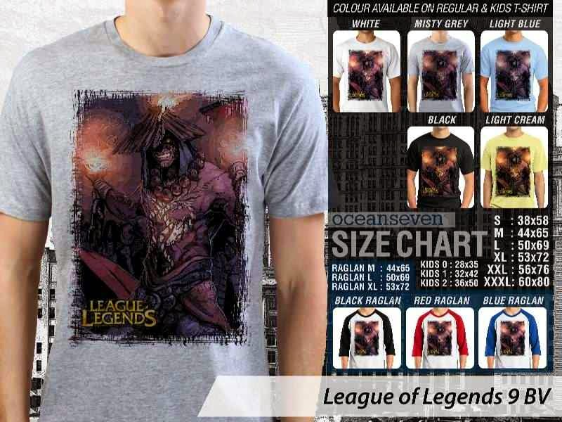 Kaos Game Online League of Legends 9 distro ocean seven