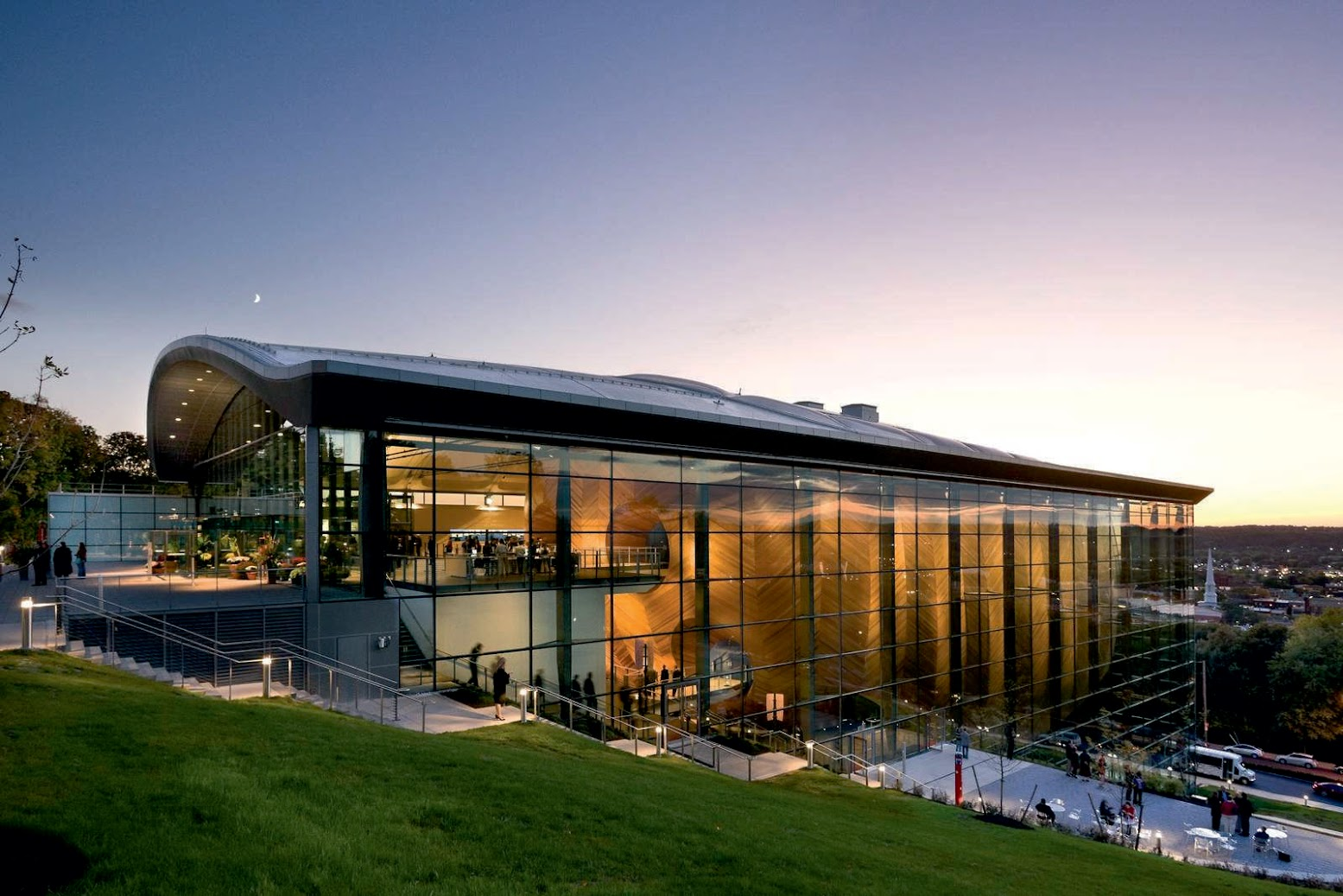 Troy, New York, Stati Uniti d'America: [EMPAC BY GRIMSHAW ARCHITECTS]