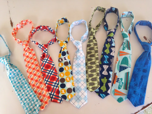 Little boys ties, fresh picked ties, dinosaur ties