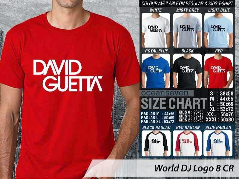 KAOS Musik DJ 8 David Guetta distro ocean seven