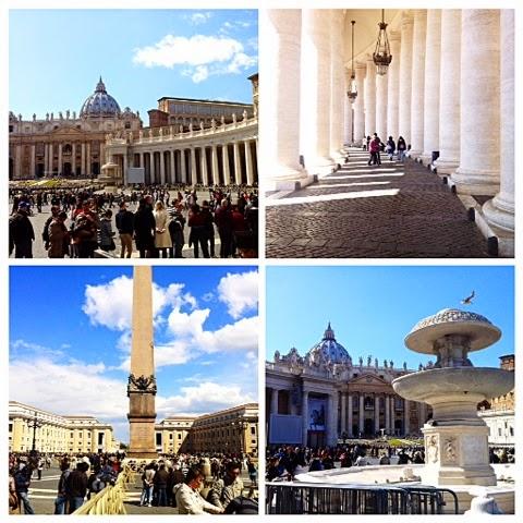 vatikaani, vatica, pope, paavi, italia, italy, rome, rooma, roma, vaticano, valtio, state, colonnade, pylväät, käytävä, pietarinaukio, piazza san pietro, obeliski, obelisk, pietarinkirkko, basilica di san pietro, sights, nähätävyys, travel, travelling, matkustaa, suihkulähde, fountain,