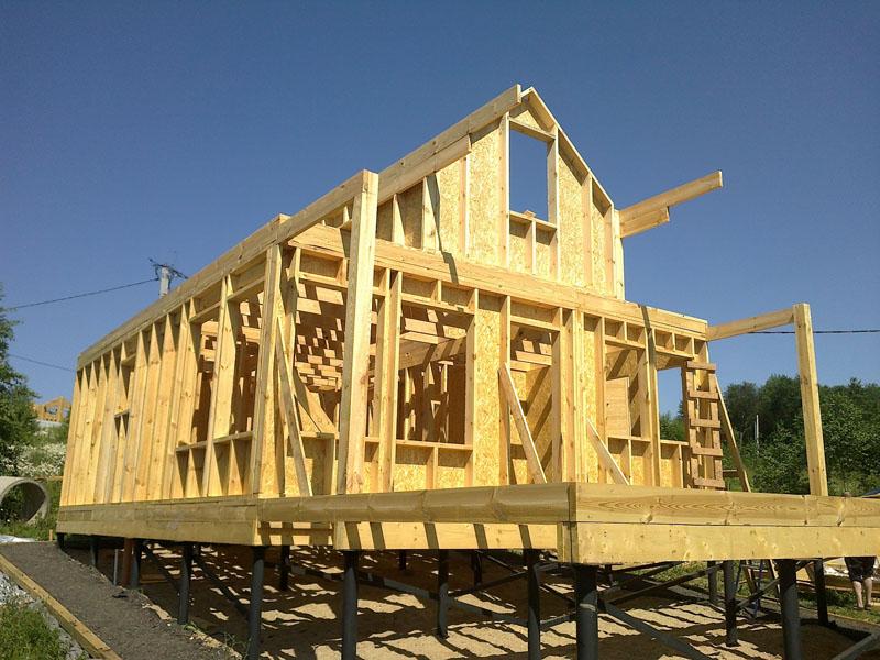 Построить дом своими руками проекты фото 83