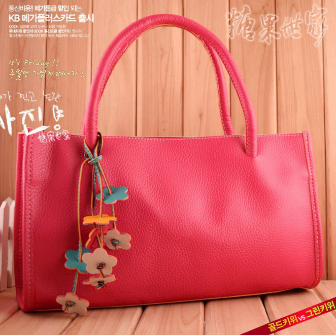 Women Korea Casual Totes Shoulder Shopper Bags Purse xJ.